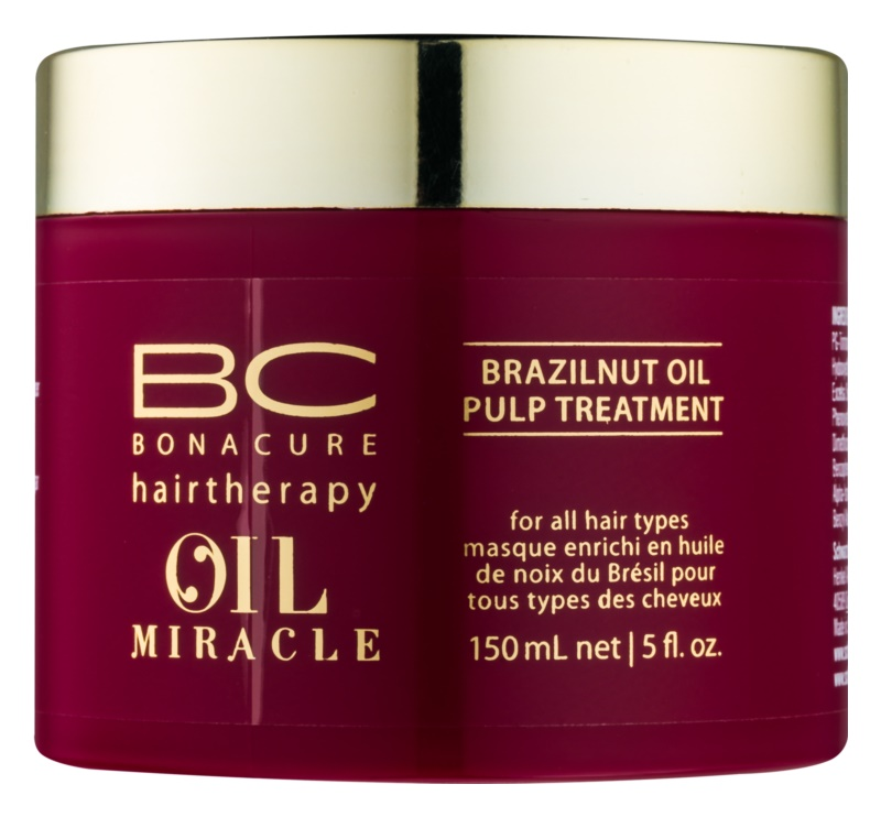 Schwarzkopf Professional BC Bonacure Oil Miracle Brazilnut Oil Haarmasker  voor Alle Haartypen