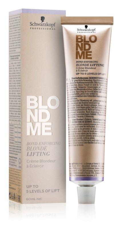 Schwarzkopf Professional Blondme zesvětlující krém pro blond vlasy