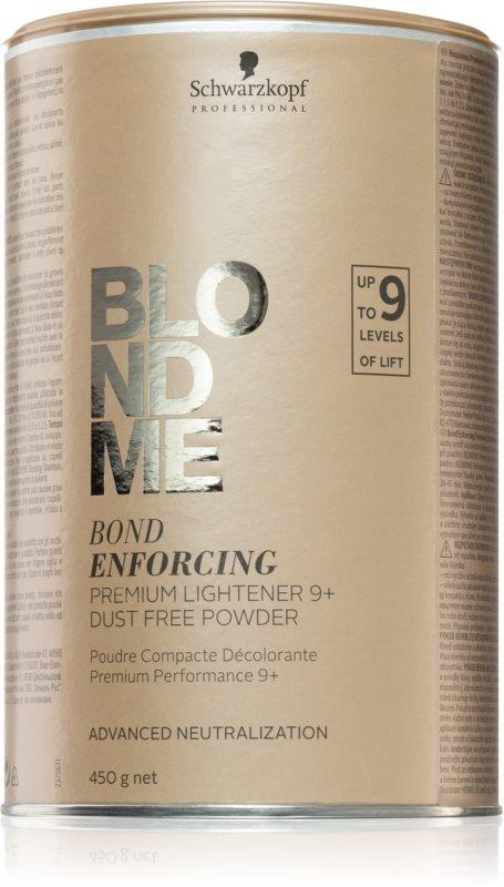 Schwarzkopf Professional Blondme prémiový zesvětlující 9+ bezprašný pudr