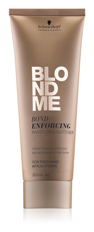 Schwarzkopf Professional Blondme освітлюючий крем без аміаку для освітленого волосся