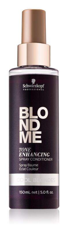 Schwarzkopf Professional Blondme leöblítést nem igénylő kondicionáló hideg szőke árnyalatokra
