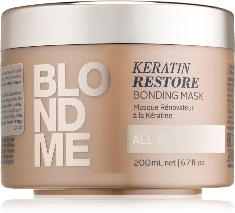 Schwarzkopf Professional Blondme obnovující maska pro všechny odstíny blond