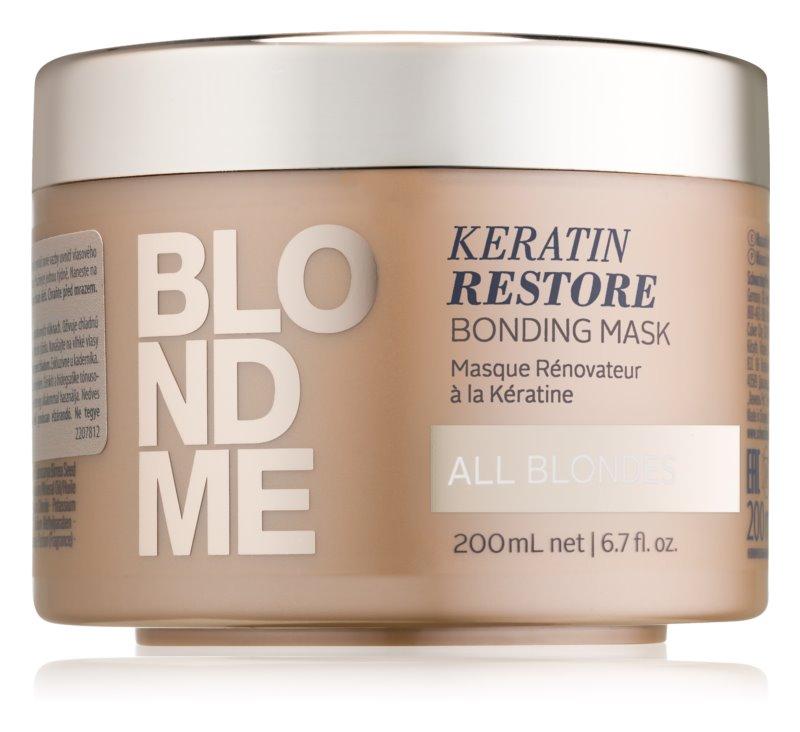 Schwarzkopf Professional Blondme obnovujúca maska pre všetky odtiene blond