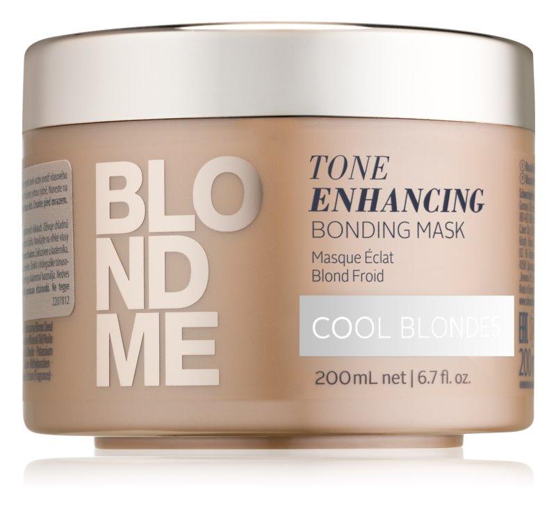 Schwarzkopf Professional Blondme θρεπτική μάσκα μαλλιών για ψυχρές  ξανθές απόχρωσης