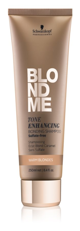Schwarzkopf Professional Blondme šampon brez sulfatov za tople blond odtenke