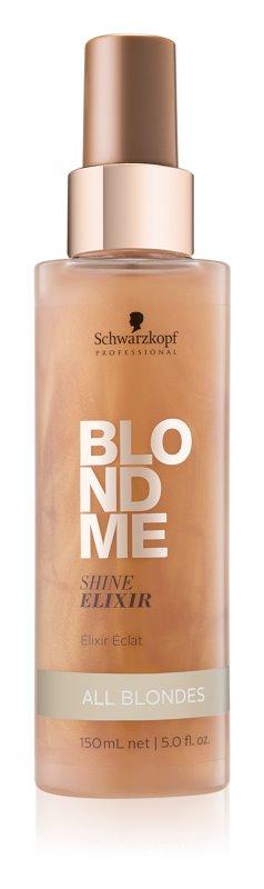 Schwarzkopf Professional Blondme eliksir brez spiranja za intenziven sijaj vseh blond odtenkov