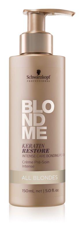 Schwarzkopf Professional Blondme trattamento intensivo per tutti i tipi di capelli biondi