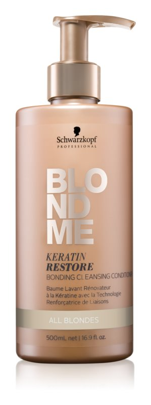 Schwarzkopf Professional Blondme Cleansing Conditioner For All Types Of Blonde Hair