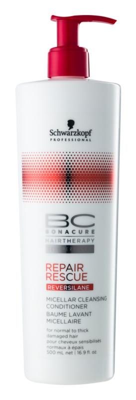 Schwarzkopf Professional BC Bonacure Repair Rescue Acondicionador micelar limpiador para cabello maltratado o dañado