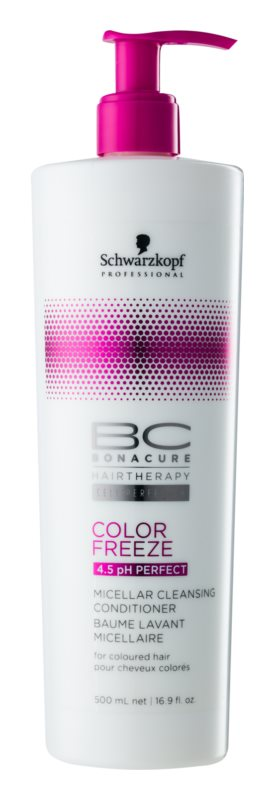 08754c511b Schwarzkopf Professional pH 4,5 BC Bonacure Color Freeze Micellar Cleansing  Conditioner For Colored Hair