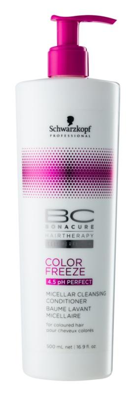 Schwarzkopf Professional pH 4,5 BC Bonacure Color Freeze очищуючий міцелярний кондиціонер для фарбованого волосся