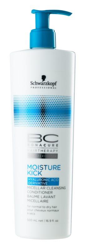 Schwarzkopf Professional BC Bonacure Moisture Kick čistící micelární kondicionér