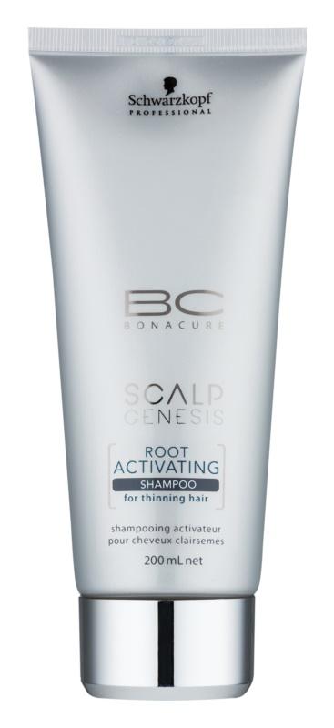 Schwarzkopf Professional BC Bonacure Scalp Genesis Activerende Shampoo voor Dunner wordend Haar
