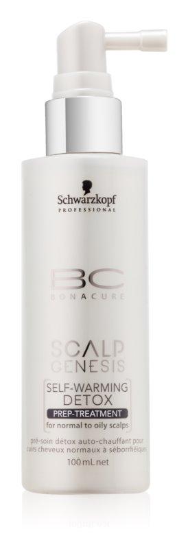 Schwarzkopf Professional BC Bonacure Scalp Genesis tratamiento desintoxicante autocalentable