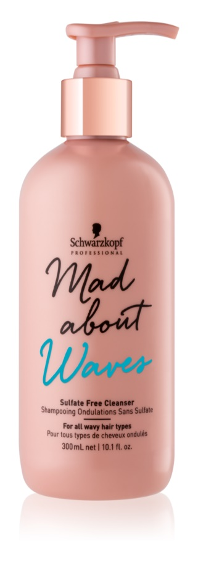 Schwarzkopf Professional Mad About Waves зволожуючий шампунь для хвилястого та кучерявого волосся без сульфатів