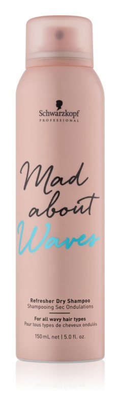 Schwarzkopf Professional Mad About Waves suchý šampon pro vlnité vlasy
