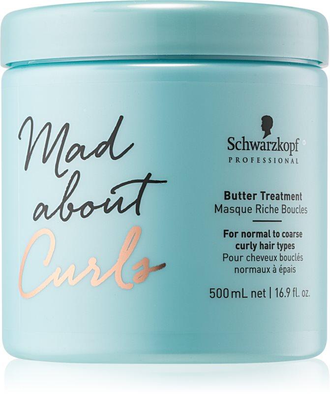 Schwarzkopf Professional Mad About Curls hloubkově vyživující maska pro kudrnaté vlasy