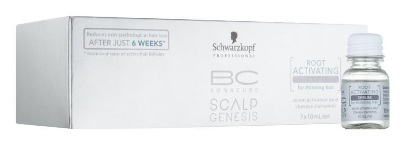 Schwarzkopf Professional BC Bonacure Scalp Genesis hajnövekedést aktiváló szérum