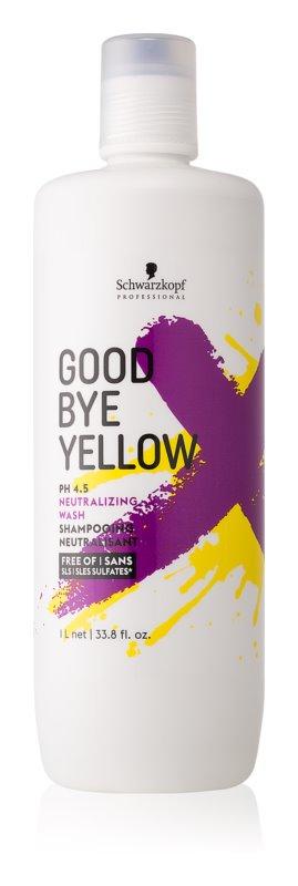 Schwarzkopf Professional BC Bonacure Color Save šampon neutralizující žluté tóny pro barvené a melírované vlasy
