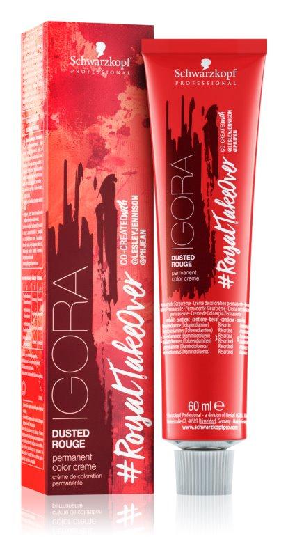Schwarzkopf Professional IGORA #RoyalTakeOver Dusted Rouge permanentní barva na vlasy