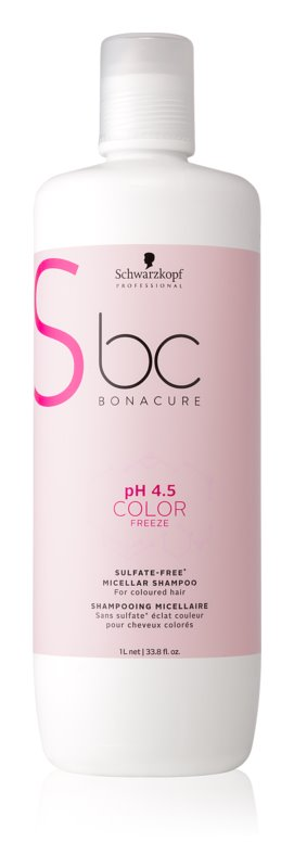 Schwarzkopf Professional pH 4,5 BC Bonacure Color Freeze Sulphate-Free Shampoo For Colored Hair