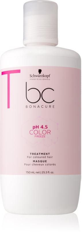 Schwarzkopf Professional pH 4,5 BC Bonacure Color Freeze маска за коса за блестящ цвят