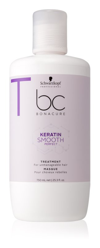 Schwarzkopf Professional BC Bonacure Smooth Perfect маска за коса за непокорна коса