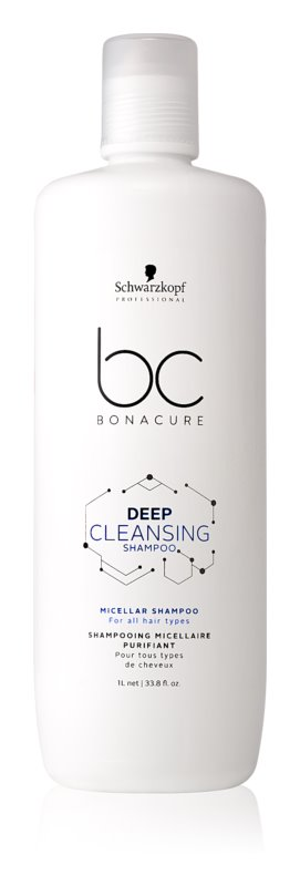 Schwarzkopf Professional BC Bonacure Hair Scalp Micellar Shampoo for All Hair Types