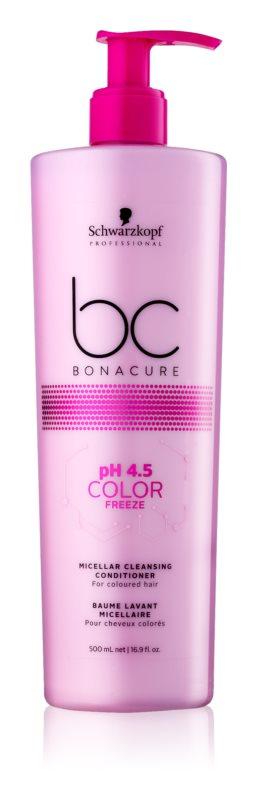 Schwarzkopf Professional pH 4,5 BC Bonacure Color Freeze micelarni čistilni balzam za barvane lase