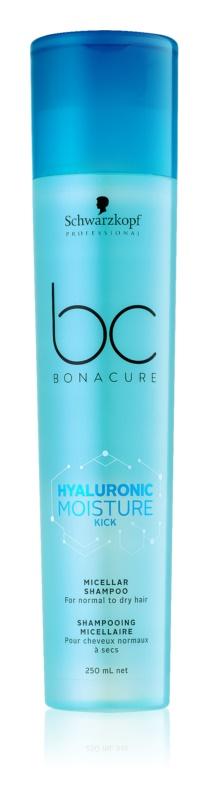 Schwarzkopf Professional BC Bonacure Moisture Kick champú micelar para cabello seco