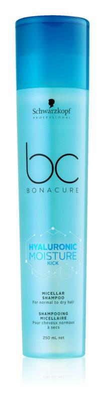 Schwarzkopf Professional BC Bonacure Moisture Kick szampon micelarny do włosów suchych
