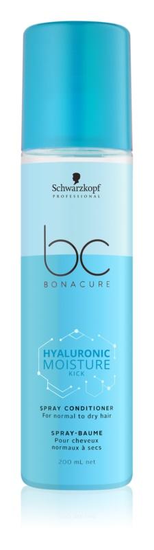 Schwarzkopf Professional BC Bonacure Moisture Kick acondicionador hidratante en spray para cabello normal y seco