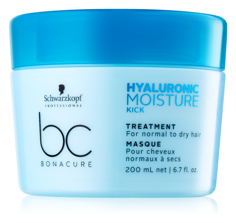 Schwarzkopf Professional BC Bonacure Moisture Kick mascarilla para cabello con ácido hialurónico
