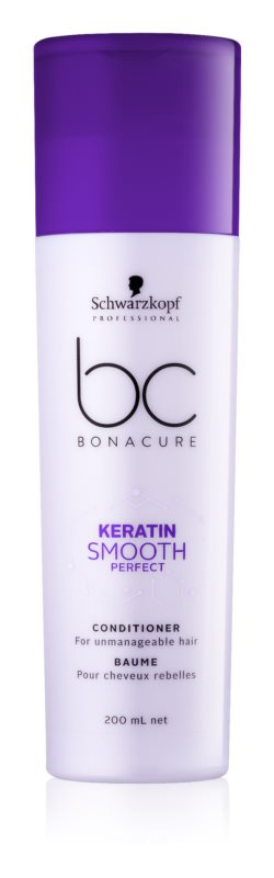 Schwarzkopf Professional BC Bonacure Smooth Perfect kondicionér pre nepoddajné vlasy