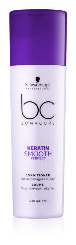Schwarzkopf Professional BC Bonacure Smooth Perfect kondicionér pro nepoddajné vlasy