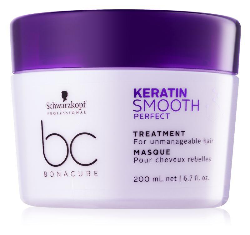 Schwarzkopf Professional BC Bonacure Smooth Perfect маска  за неподдайна коса