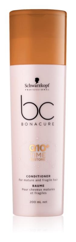 Schwarzkopf Professional BC Bonacure Time Restore Q10 condicionador para cabelo maduro e frágil