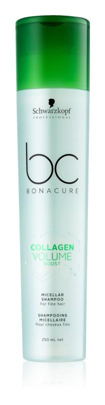 Schwarzkopf Professional BC Bonacure Volume Boost micelární šampon pro vlasy bez objemu