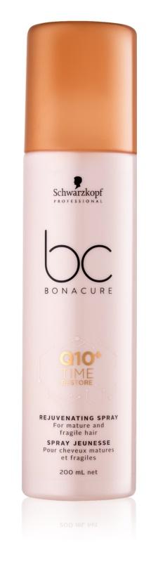 Schwarzkopf Professional BC Bonacure Time Restore Q10 pomlajevalno pršilo za zrele in krhke lase
