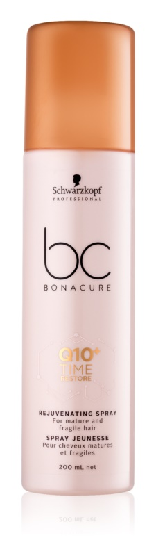 Schwarzkopf Professional BC Bonacure Time Restore Q10 Rejuvenating Spray For Mature And Fragile Hair