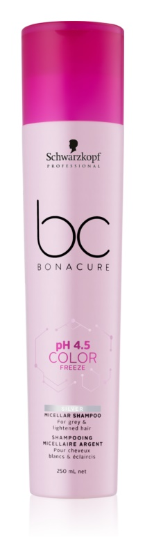 Schwarzkopf Professional PH 4,5 BC Bonacure Color Freeze Micelárny šampón pre odfarbené vlasy