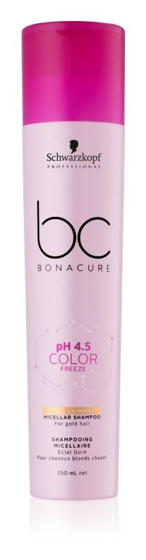 Schwarzkopf Professional PH 4,5 BC Bonacure Color Freeze Micelárny šampón pre blond vlasy