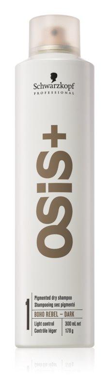 Schwarzkopf Professional Osis+ Boho Rebel osvežujoči suhi šampon za temne lase