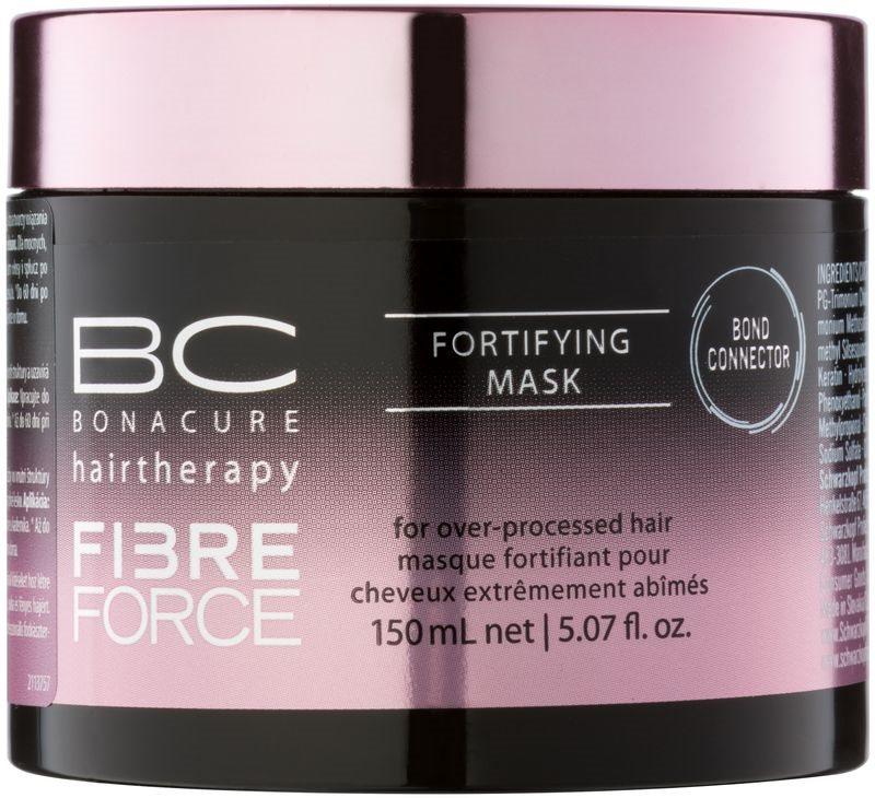 Schwarzkopf Professional BC Bonacure Fibreforce posilující maska pro velmi poškozené vlasy