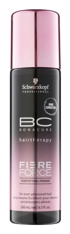 Schwarzkopf Professional BC Bonacure Fibreforce tratamento de fortalecimento sem enxagúe para cabelo danificado