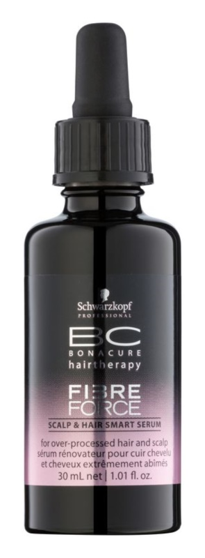 Schwarzkopf Professional BC Bonacure Fibreforce sérum pre obnovu vlasovej pokožky a poškodených vlasov