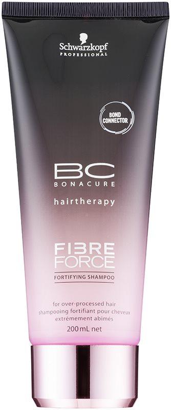 Schwarzkopf Professional BC Bonacure Fibreforce szampon wzmacniający do włosów zniszczonych