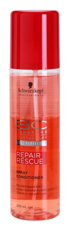 Schwarzkopf Professional BC Bonacure Repair Rescue відновлюючий кондиціонер у формі спрею для пошкодженого волосся