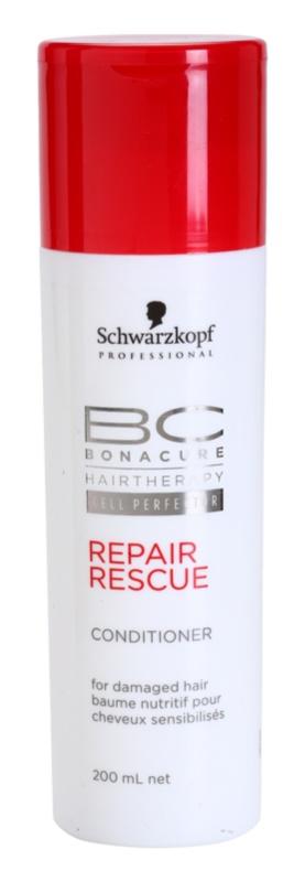 Schwarzkopf Professional BC Bonacure Repair Rescue regeneráló kondicionáló a károsult hajra