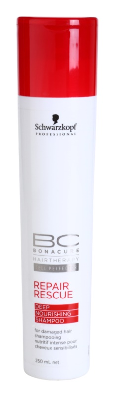 Schwarzkopf Professional BC Bonacure Repair Rescue Regenierendes Shampoo für beschädigtes Haar